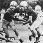 """All-American """"Stumblin' Sam"""" McCord was one of the early icons that had great success and help put Commerce Football on the Map."""
