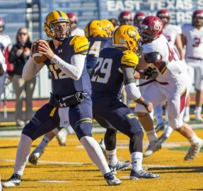 The arm of Luis Perez delivered the Lions their first NCAA playoff win in 25 years in a win over Colorado-Mesa.